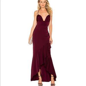 Revolve Majorelle Gown Dress